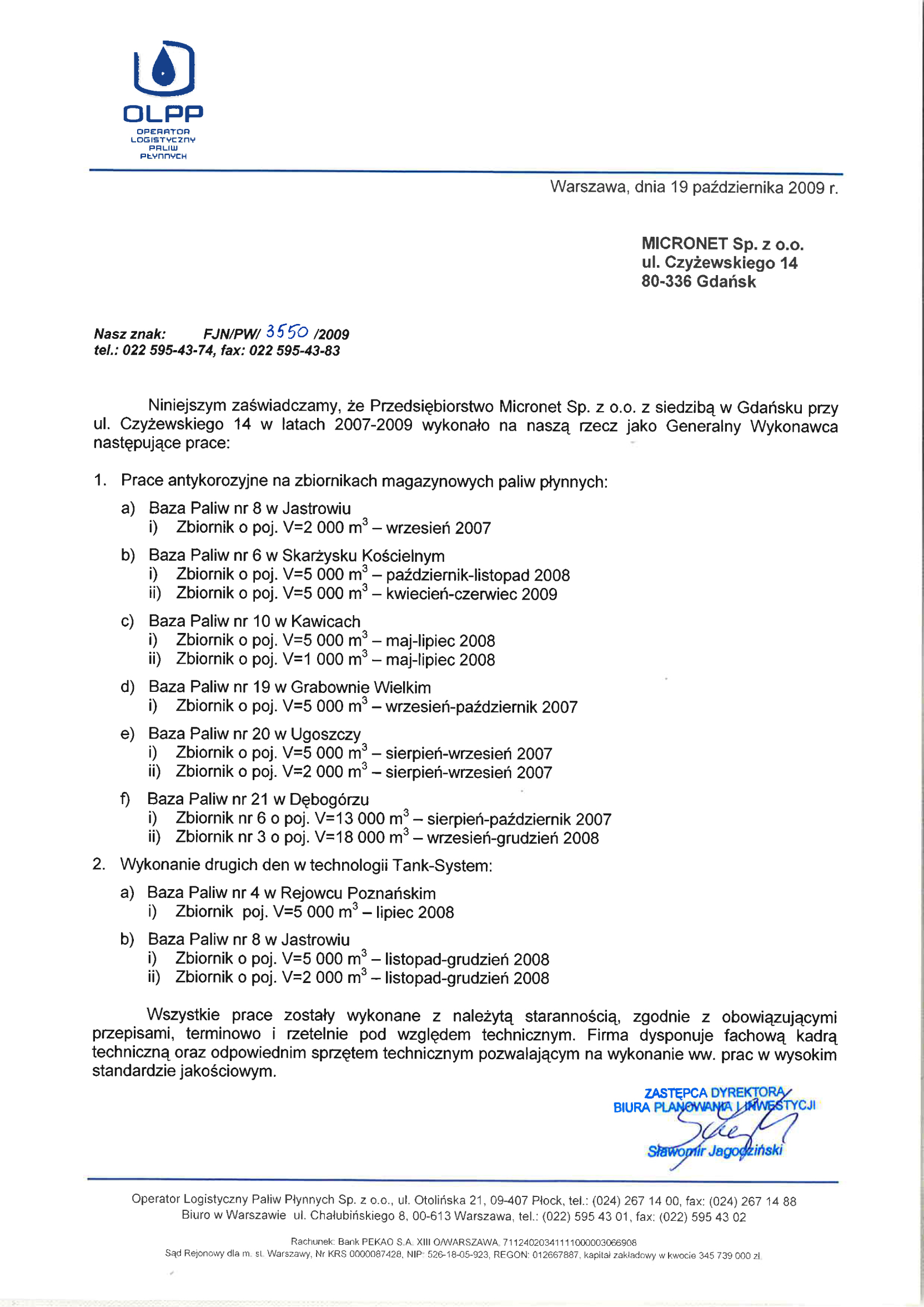 OLPP Rejowiec Poznański Jastrowie