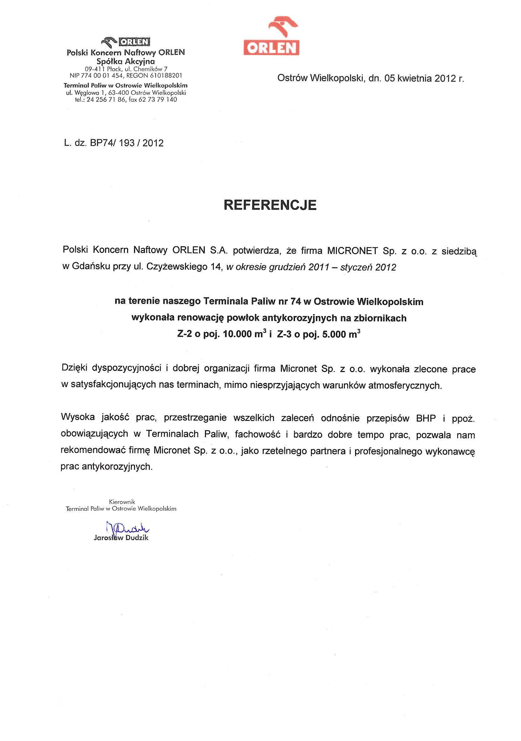 ORLEN Ostrów Wielkopolski